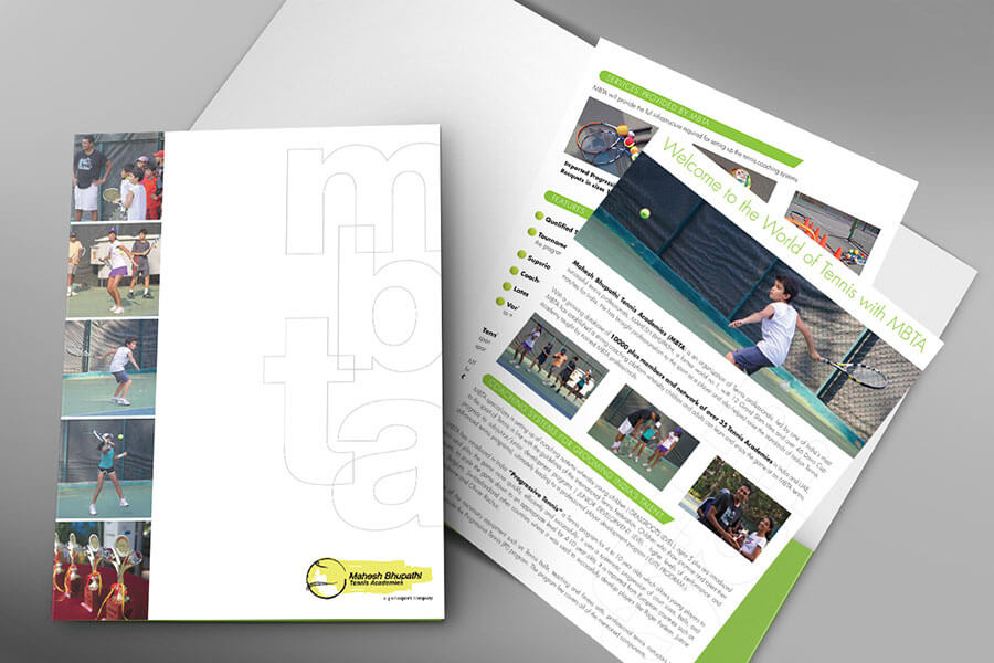 marketing brochures
